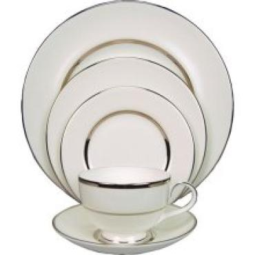 Platinum Silk 5 Piece Place Setting