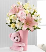The Baby Girl Big Hug® Bouquet by FTD®