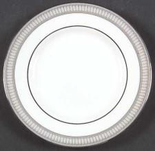 Carina Platinum Bread and Butter Plate
