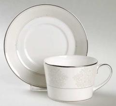 Modern Love Tea Cup and Saucer