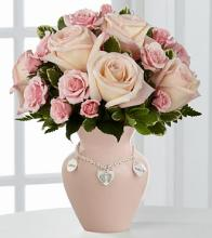 New Mother\'s Charm Rose Bouquet - Girl